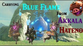 Zelda Botw: Carrying The Blue Flame From Akkala To Hateno