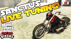 GTA 5 Online - BIKERS Update: LCC Sanctus Live Tuning + Halloween T-Shirts! [PlayStation 4 Gameplay]