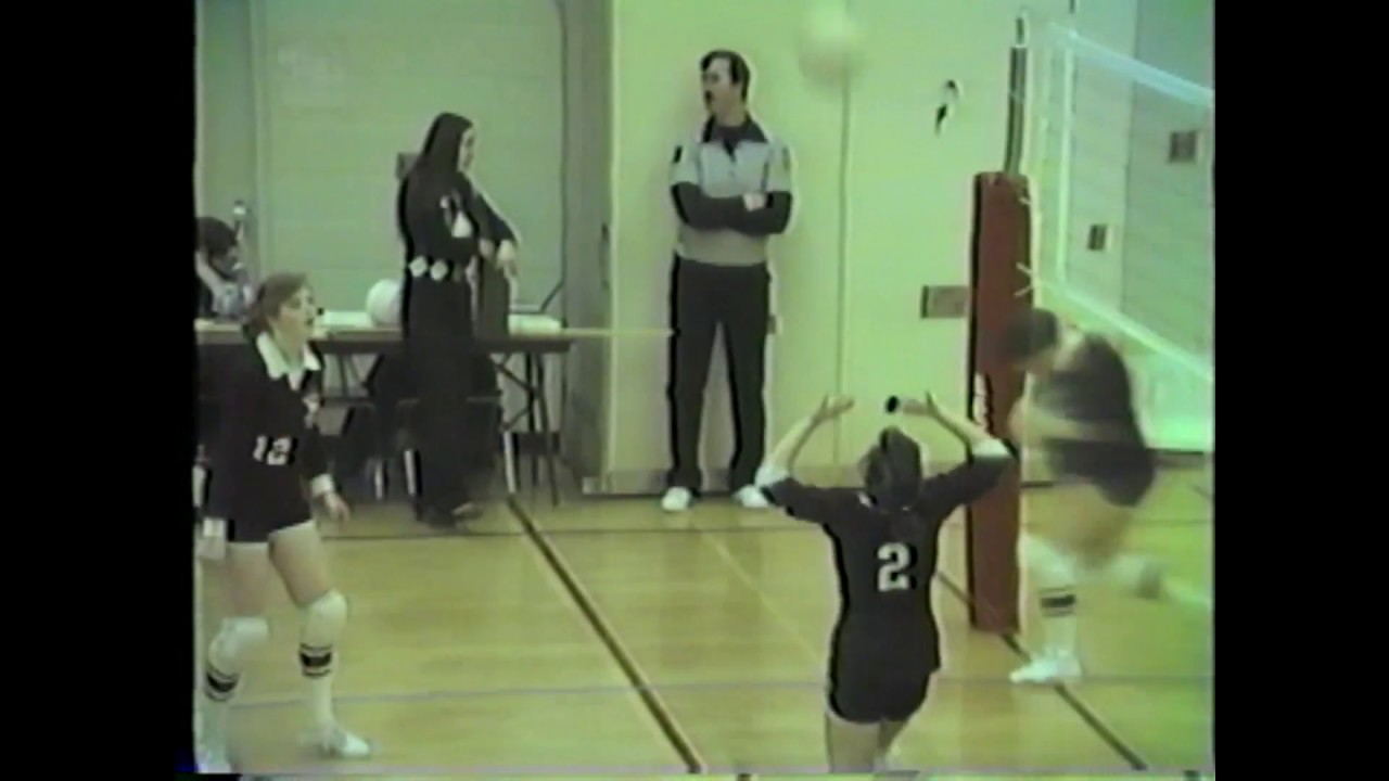 NCCS - AuSable Valley JV Volleyball  2-13-87