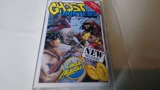 GHOST HUNTERS Commodore 64 C64 Case Cassette Manual View 25.08.18