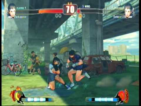 Street Fighter IV Player Matches (7/16/09): DeNice...