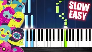 OMFG - Hello - SLOW EASY Piano Tutorial by PlutaX