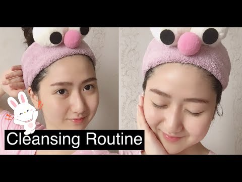 Cleansing Routine + Hết Mụn Ẩn ☾ Part 1 Everyday Skincare Routine ♡