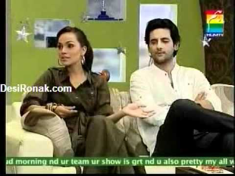 Morning with Hum (Amina Sheikh & Mohib Mirza) Part -1