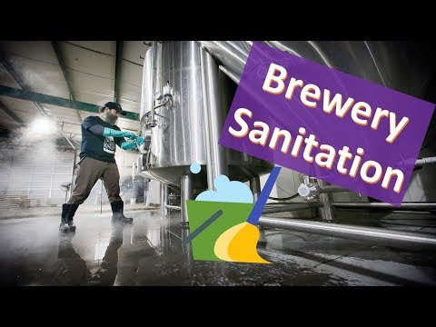 Brewing Sanitizing -- Beer Industry And Homebrewing SCIENCE