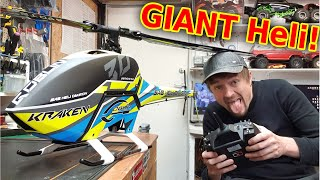 GIANT $3000 12s Stunt RC Helicopter BUILD (WORLDS BEST HELI)