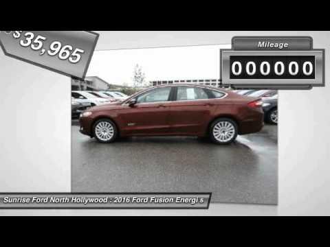 2016 Ford Fusion Energi North Hollywood,Los Angeles,San Fernando Valley,Glendale,Burbank M60546