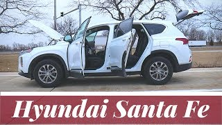 2019 Hyundai Santa Fe SE AWD | full review and test drive