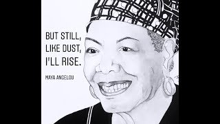 Iconic Woman – Maya Angelou