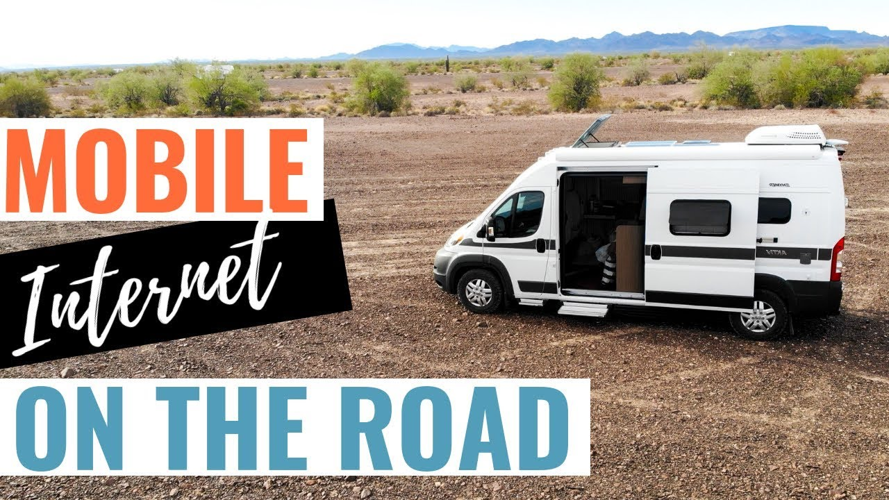 Camper Van WiFi - Mobile INTERNET ON THE ROAD As A Digital Nomad // WiFi In  RV