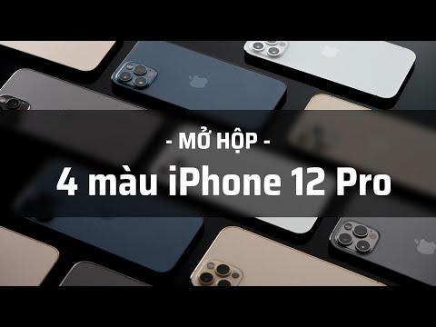 Mở hộp iPhone 12 Pro đủ 4 màu: trắng đẹp nhất