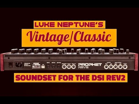 Vintage/Classic Soundset for the DSI Rev2
