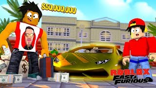 ROBLOX FAST AND THE FURIOUS - THE MOST EXPENSIVE CAR IN ROBLOX EVER!!!!!