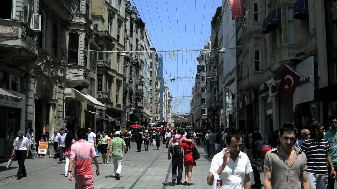Taksim Istiklal Street Nisantasi Galata Tower Istanbul ...