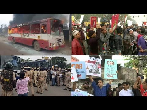 Simultaneous Protests Across Country Over Citizenship Act