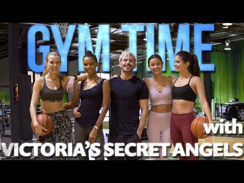 Earning My Victoria's Secret Angel Wings | Gym Time w/ Zac Efron