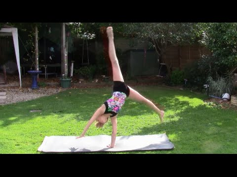 How To Do A Side to Side and Forwards Cartwheel