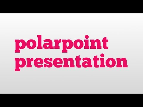 polarpoint presentation meaning and pronunciation