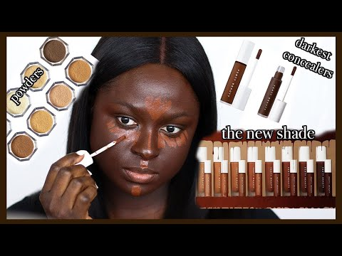 *NEW* FENTY FOUNDATION, CONCEALER & SETTING POWDER.