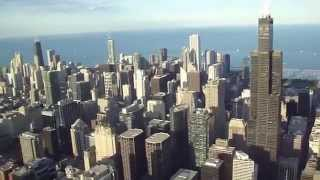 Helicopter Ride over Chicago