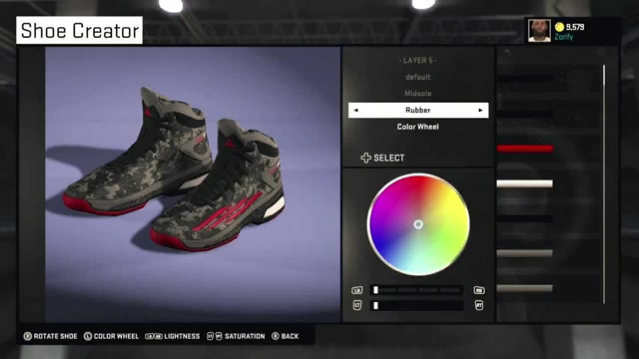 NBA 2K15 Shoe Creator - Adidas Crazylight Boost PE