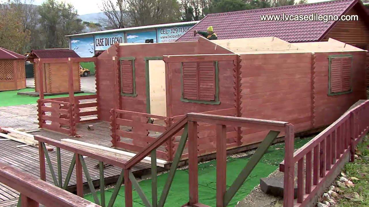 Casette di legno prefabbricate di lucan youtube for Costo casette di legno