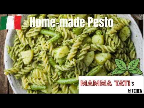 pasta-with-the-authentic-italian-genovese-pesto!