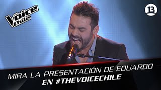 The Voice Chile | Eduardo del Campo - Roxanne