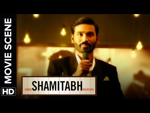 Dhanush introduces the creator of 'Lifebuoy' | Shamitabh | Movie Scene