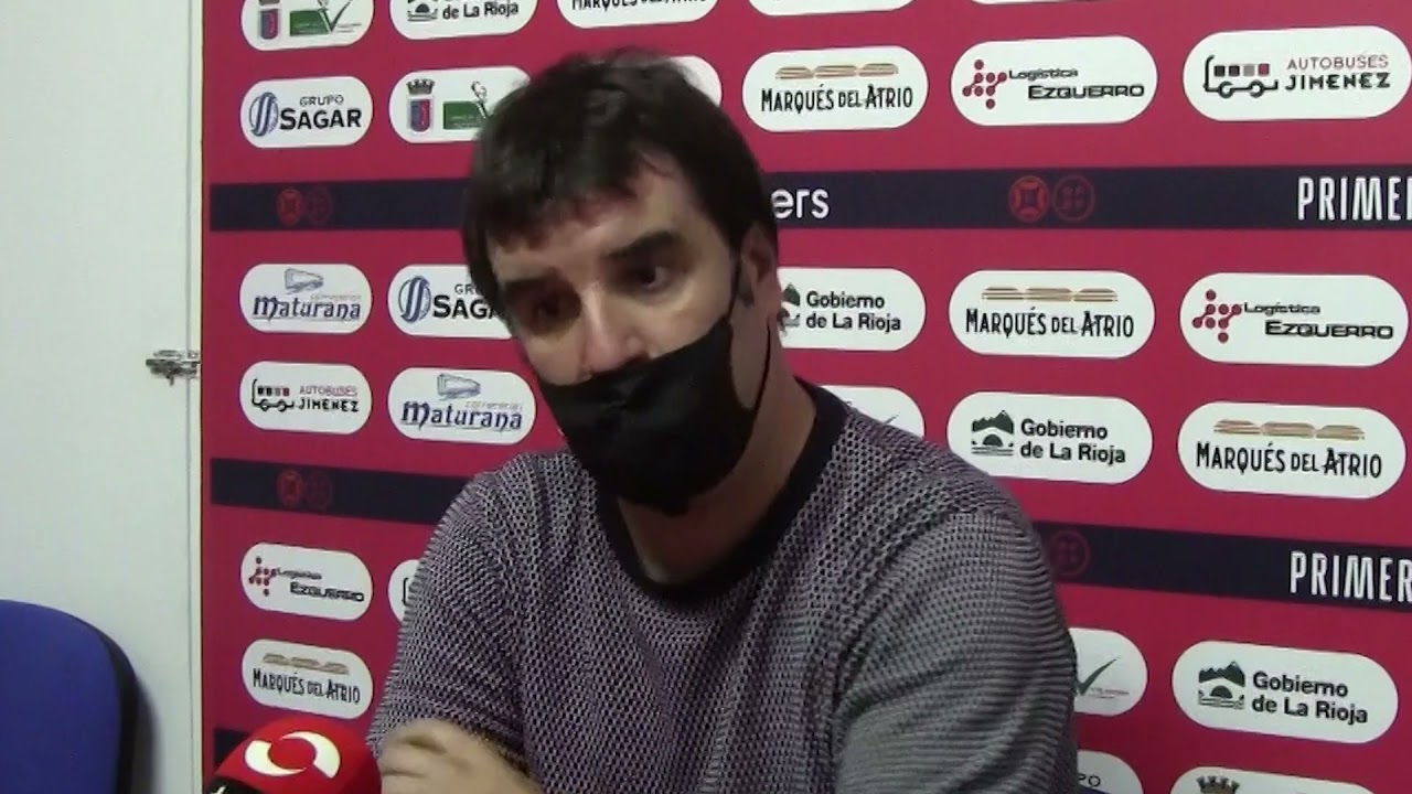 Aitor Zulaika, tras el CD Calahorra 2 -4 Real Unión