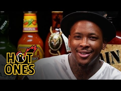 YG Keeps His Bool Eating Spicy Nuggets | Hot Ones on Complex