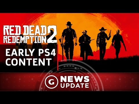 Red Dead Redemption 2 Gets Early Content on PS4 - GS News Update