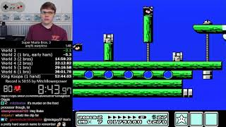 (52:19) Super Mario Bros. 3 Warpless speedrun