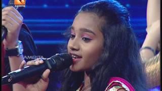 Super Star Junior 5   Saubhag & Bhavana   'Oorellam Unnai Kandu…'