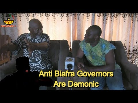 Anti Biafra Governors Are Demonic - Former Deputy Governor Speaks.