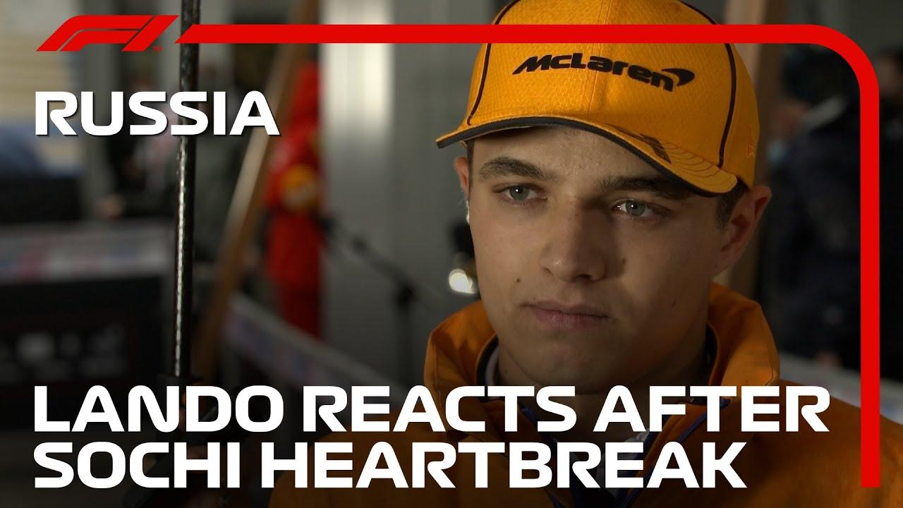 Download Lando Norris Reacts To Sochi Heartbreak | 2021 Russian Grand Prix