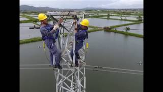 110 kV elektr uzatish liniyalari bo'yicha ish