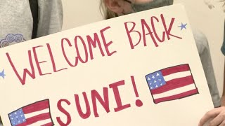 WATCH LIVE: Medal-winning Suni Lee, Grace McCallum return home