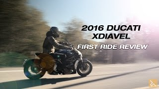 Ducati Xdiavel First Ride Review