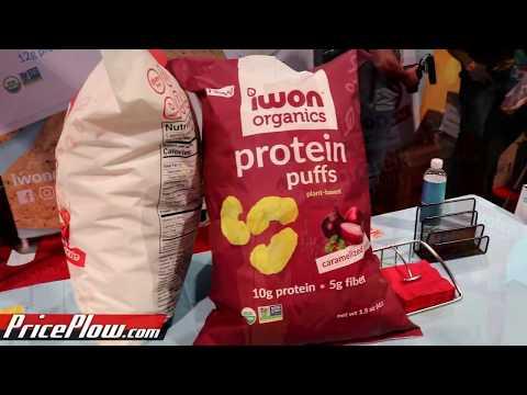 High Protein CHEESE PUFFS?! IWon Nutrition's Mark Samuel Announces Protein Puffs!