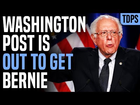 The Washington Post is Out to Get Bernie Sanders