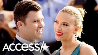 Scarlett Johansson & Colin Jost Expecting Baby (Report)