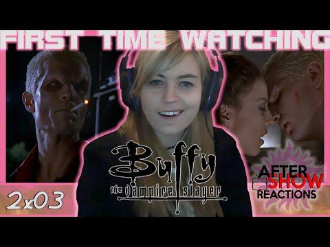Buffy The Vampire Slayer S02E03 - School Hard Reaction