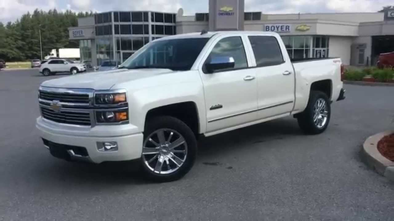 2014 Chevrolet Silverado High Country 1500 4WD Crew Cab ...