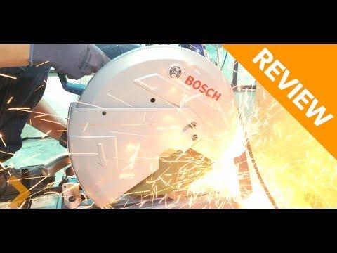Review & Cut Test Bosch GCO 200 Metal Cut Off Saw - Chop Saw