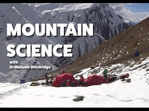 Mountain Science with Melanie Windridge