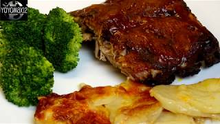 Oven Baked Barbeque (BBQ)  Pork Ribs