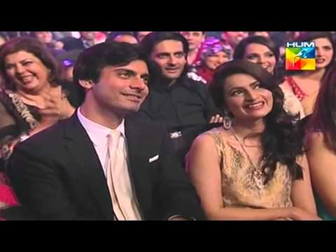 Fawad Khan's humorous scene about hair clip scene from Humsafar (1st HumTv Awards 2013) HD