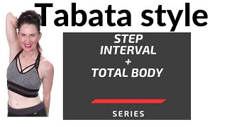 48 MINUTE WORKOUT  |TABATA CARDIO STEP -STRENGTH|  HIIT STEP WORKOUT | TABATA CARDIO|  AFT