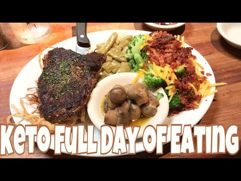 keto-full-day-of-eating-|-mail-time-|-eating-out-at-cheddars-low-carb-style